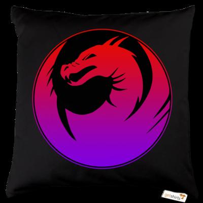 Motiv: Kissen Baumwolle - Drabu Logo Youtube/Twitch
