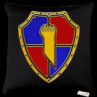 Motiv: Kissen Baumwolle - Wappen