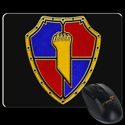 Motiv: Mousepad Textil - Wappen