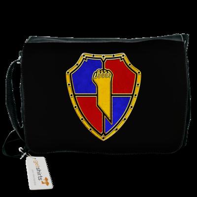 Motiv: Schultertasche - Wappen
