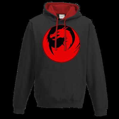 Motiv: Two-Tone Hoodie - Drabu Logo Youtube