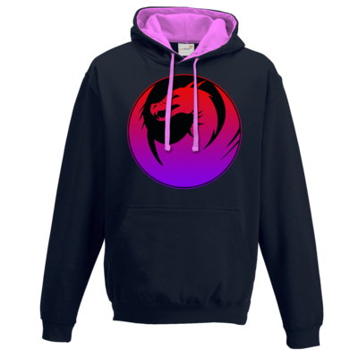 Motiv: Two-Tone Hoodie - Drabu Logo Youtube/Twitch