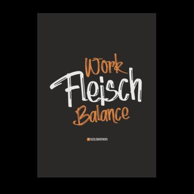 Motiv: Poster A1 - Fleisch Balance
