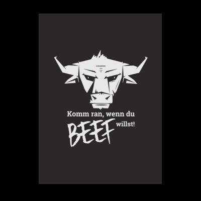 Motiv: Poster A1 - Willste Beef?