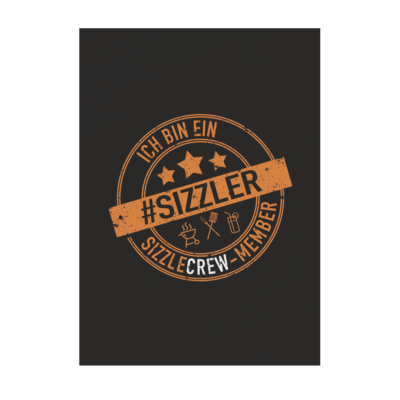 Motiv: Poster A1 - sizzler_3_dunkel