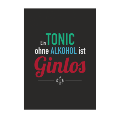 Motiv: Poster A1 - SizzleBrothers - Grillen - Gin - ginlos 2