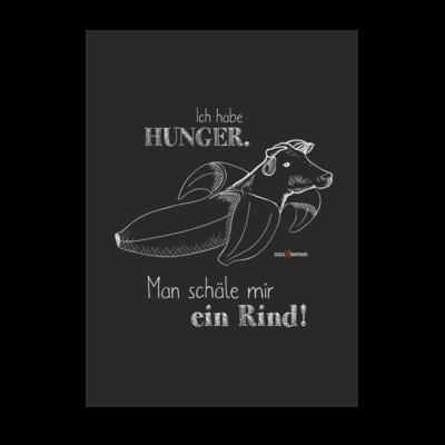Motiv: Poster A1 - SizzleBrothers - Grillen - Hunger Rind schälen