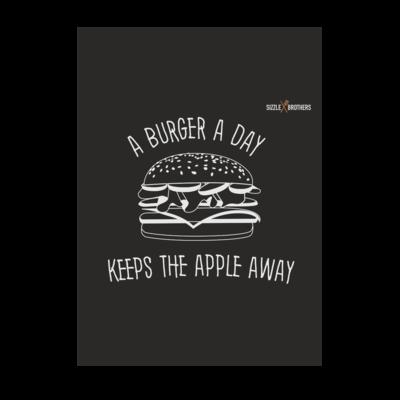 Motiv: Poster A1 - SizzleBrothers - Grillen - Burger Apple