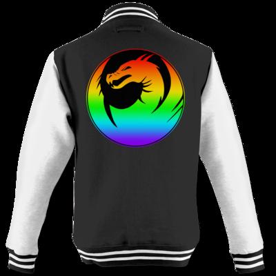 Motiv: College Jacke - Drabu Rainbow Logo