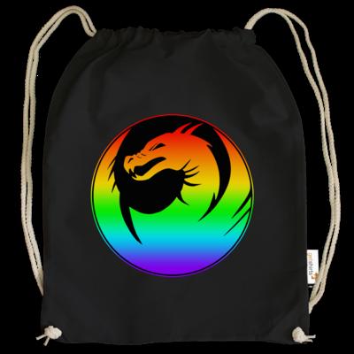 Motiv: Cotton Gymsac - Drabu Rainbow Logo