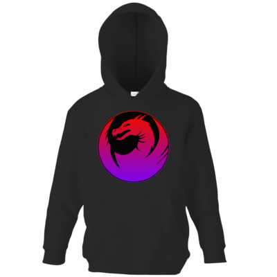 Motiv: Kids Hooded Sweat - Drabu Logo Youtube/Twitch