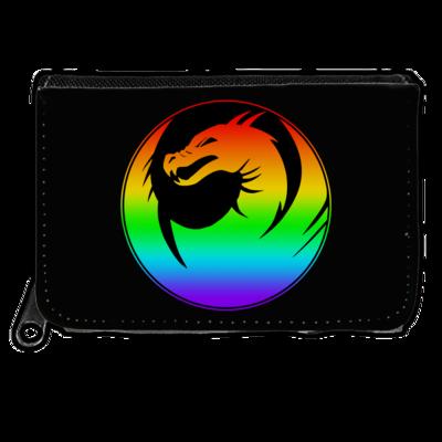 Motiv: Geldboerse - Drabu Rainbow Logo