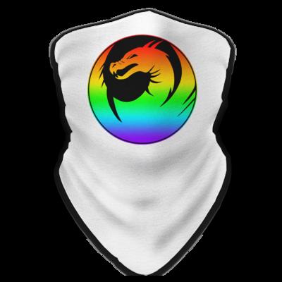 Motiv: Schlauchtuch - Drabu Rainbow Logo