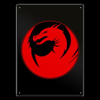 Motiv: Metallschild - Drabu Logo Youtube