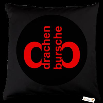 Motiv: Kissen Baumwolle - Drabu Retro Logo