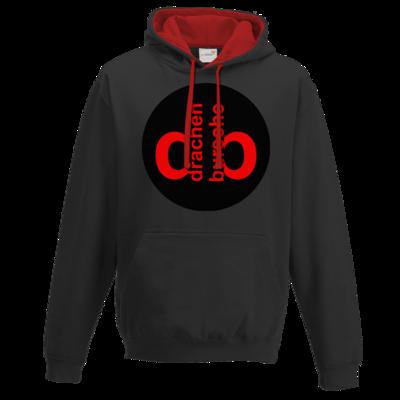 Motiv: Two-Tone Hoodie - Drabu Retro Logo