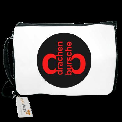 Motiv: Schultertasche - Drabu Retro Logo
