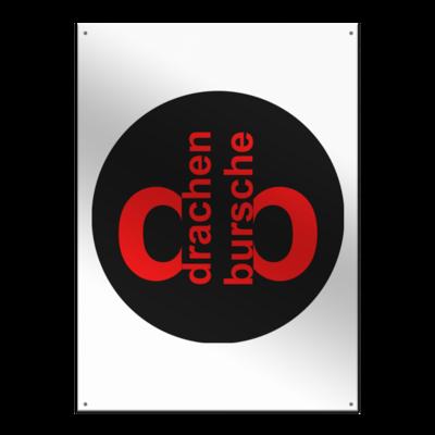 Motiv: Metallschild - Drabu Retro Logo