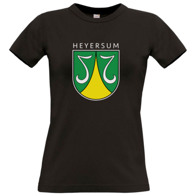 Motiv: T-Shirt Damen Premium FAIR WEAR - Dorfwappen klein