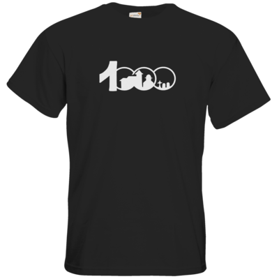 Motiv: T-Shirt Premium FAIR WEAR - Logo 1000 Jahre