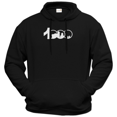 Motiv: Hoodie Premium FAIR WEAR - Logo 1000 Jahre