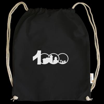 Motiv: Cotton Gymsac - Logo 1000 Jahre