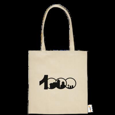 Motiv: Baumwolltasche - Logo 1000 Jahre