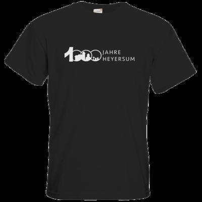 Motiv: T-Shirt Premium FAIR WEAR - Logo 1000 Jahre - Schrift Seite
