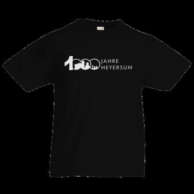 Motiv: Kids T-Shirt Premium FAIR WEAR - Logo 1000 Jahre - Schrift Seite