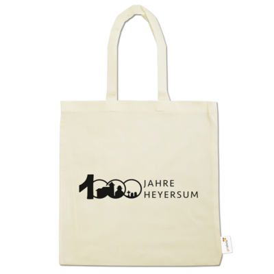 Motiv: Baumwolltasche - Logo 1000 Jahre - Schrift Seite