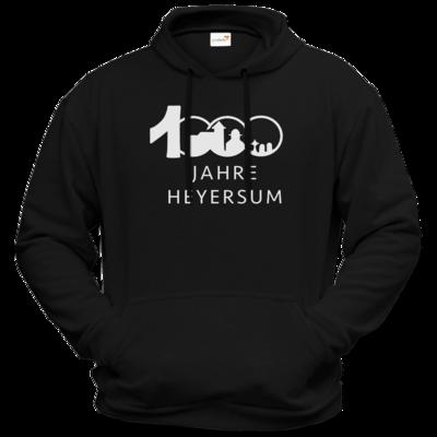 Motiv: Hoodie Premium FAIR WEAR - Logo 1000 Jahre - Schrift unten