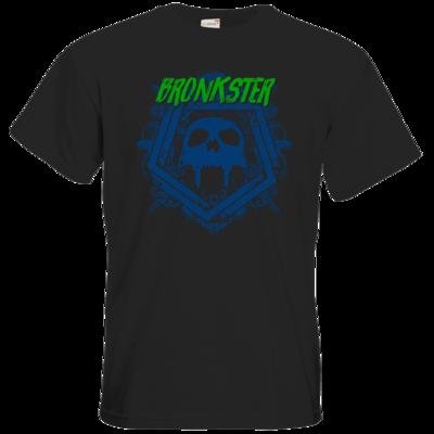 Motiv: T-Shirt Premium FAIR WEAR - Bronkster (green/blue)