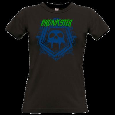 Motiv: T-Shirt Damen Premium FAIR WEAR - Bronkster (green/blue)