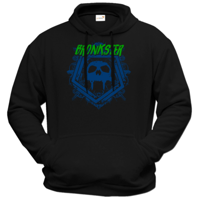 Motiv: Hoodie Premium FAIR WEAR - Bronkster (green/blue)