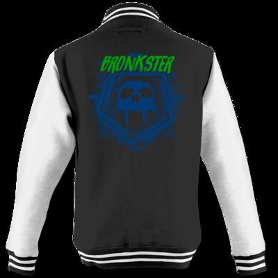 Motiv: College Jacke - Bronkster (green/blue)