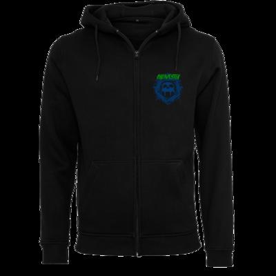 Motiv: Heavy Zip-Hoodie - Bronkster (green/blue)