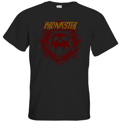 Motiv: T-Shirt Premium FAIR WEAR - Bronkster (orange/red)