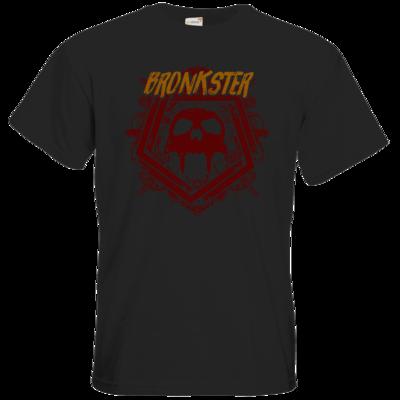 Motiv: T-Shirt Premium FAIR WEAR - Bronkster (orange/red)