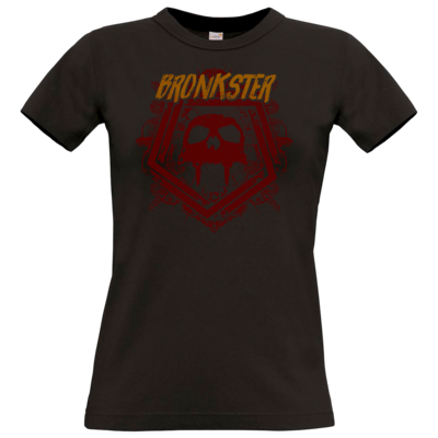 Motiv: T-Shirt Damen Premium FAIR WEAR - Bronkster (orange/red)
