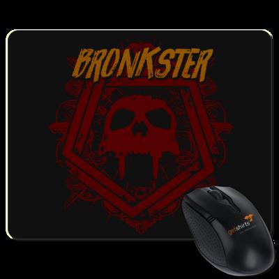 Motiv: Mousepad Textil - Bronkster (orange/red)