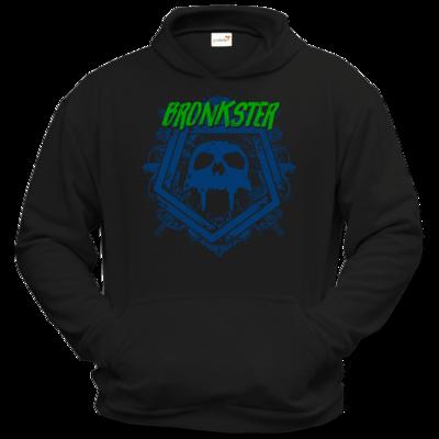 Motiv: Hoodie Classic - Bronkster (green/blue)