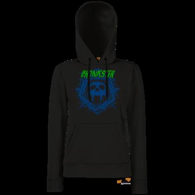 Motiv: Hoodie Damen Classic - Bronkster (green/blue)