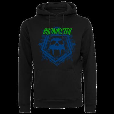 Motiv: Heavy Hoodie - Bronkster (green/blue)