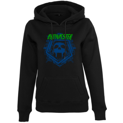 Motiv: Womens Heavy Hoody - Bronkster (green/blue)