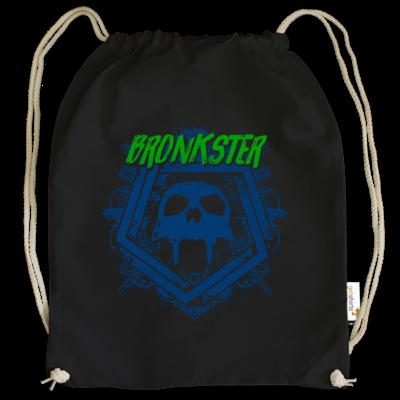 Motiv: Cotton Gymsac - Bronkster (green/blue)