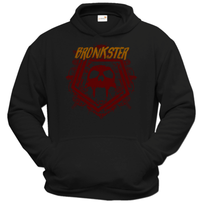 Motiv: Hoodie Classic - Bronkster (orange/red)