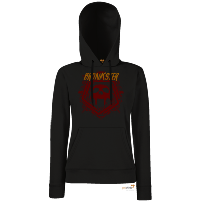 Motiv: Hoodie Damen Classic - Bronkster (orange/red)