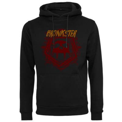 Motiv: Heavy Hoodie - Bronkster (orange/red)