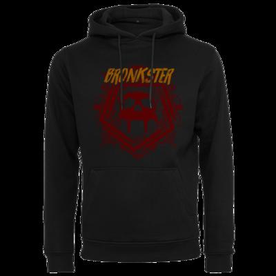 Motiv: Heavy Hoodie - Bronkster (orange/red)