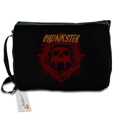 Motiv: Schultertasche - Bronkster (orange/red)